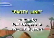 Party Line Cartoon Picture