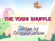 The Yoshi Shuffle Cartoon Picture
