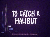 To Catch A Halibut Cartoon Picture