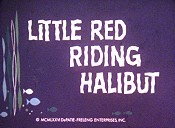 Little Red Riding Halibut Cartoon Picture