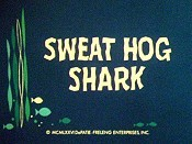 Sweat Hog Shark Cartoon Picture