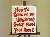 How to Remove an Unwanted Guest from Your House... and Make More Living Room