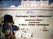 Paddington Goes Underground Pictures To Cartoon