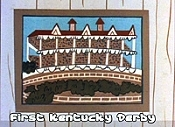 The First Kentucky Derby Pictures In Cartoon