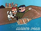 Marco Polo Cartoon Picture