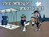 The Wright Brothers Cartoon Picture