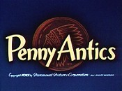 Penny Antics Cartoon Character Picture