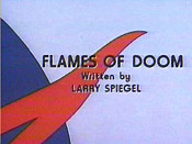 Flames Of Doom Cartoon Picture