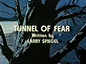 Tunnel Of Fear Cartoon Picture