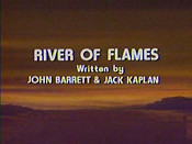River Of Flames Cartoon Character Picture