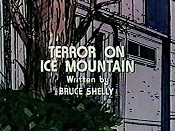 Terror On Ice Mountain Cartoon Character Picture