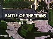 Battle Of The Titans Picture Into Cartoon