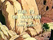 Trail To The Unknown Cartoon Picture