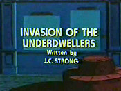 Invasion Of The Underdwellers Cartoon Character Picture