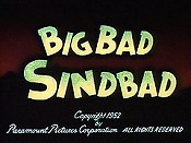 Big Bad Sindbad Picture Of The Cartoon