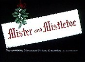 Mister And Mistletoe Cartoon Character Picture