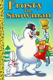 Frosty The Snowman Picture To Cartoon