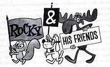 Rocky and His Friends  Logo