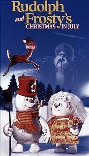 Rudolph And Frosty's Christmas In July Picture To Cartoon