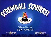 Screwball Squirrel Cartoon Character Picture