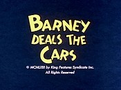 Barney Deals The Cars Cartoon Pictures