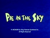Pie In The Sky Cartoon Pictures