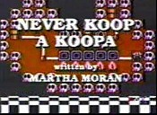 Never Koop A Koopa Cartoon Picture