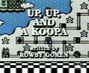 Up, Up, And A Koopa Cartoon Picture