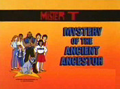 Mystery Of The Ancient Ancestor Free Cartoon Picture