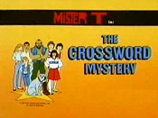 The Crossword Mystery Pictures In Cartoon