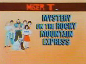 Mystery Of The Rocky Mountain Express Picture Into Cartoon