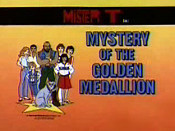 Mystery Of The Golden Medallions Picture Into Cartoon