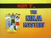 The Ninja Mystery Picture Into Cartoon