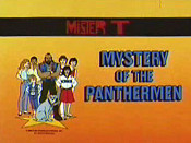 Mystery Of The Panthermen Picture Into Cartoon