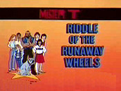 Riddle Of The Runaway Wheels Picture Into Cartoon