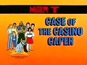 Case Of The Casino Caper Picture To Cartoon