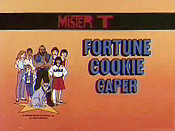 Fortune Cookie Caper Picture To Cartoon