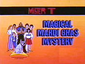 Magical Mardi Gras Mystery Picture Into Cartoon