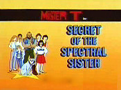 Secret Of The Spectral Sister Picture To Cartoon