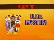 U.F.O. Mystery Cartoon Picture