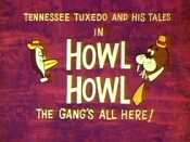 Howl Howl - The Gang's All Here! Cartoon Character Picture