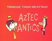 Aztec Antics Cartoon Character Picture