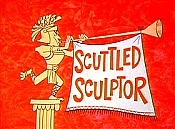 Scuttled Sculptor Cartoon Character Picture