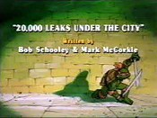 20,000 Leaks Under The City Cartoon Picture