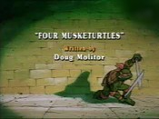 Four Musketurtles The Cartoon Pictures