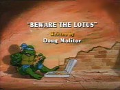 Beware The Lotus Cartoon Picture