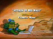 Attack Of Big MACC Cartoon Picture
