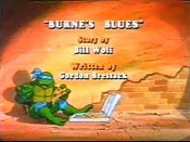 Burne's Blues Cartoon Picture