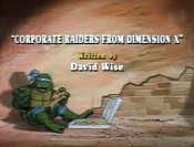 Corporate Raiders from Dimension X Cartoon Character Picture