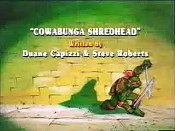 Cowabunga Shredhead Cartoon Picture